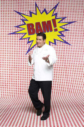 Cook that says bam