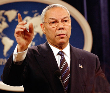 general collin powell My manager shared colin powell's lessons in leadership with our team today i had seen powell's leadership lessons before, but it was a great refresher and a.