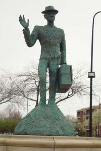 bronzeville statue