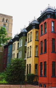 row houses in DC