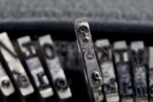 question mark typewriter key