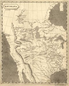 Louisiana Purchase Map