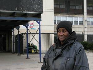 12/7/10 Annie Ricks, 54, has lived in a Cabrini-Green for the last 21 years, raising 12 of her 13 children there. Hers is one of just two families who have not yet moved out. She has until Friday to find a new place to live. David Schaper/NPR