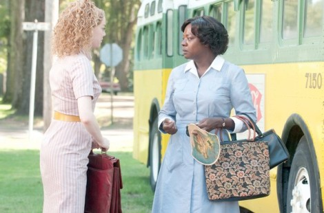 "Emma Stone (left) and Viola Davis (right) star in ""The Help"""