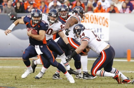 December 11, 2011, Broncos defeat Bears 13-10 in overtime