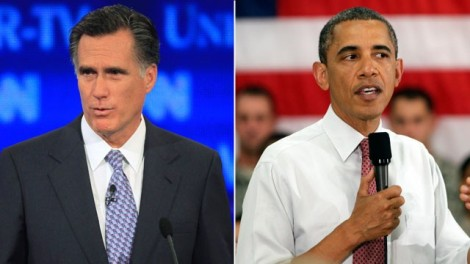 Mitt Romney and Barack Obama are pictured in this June 2011 file photo. (Jim Cole/AP Photo)