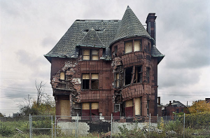 William Livingstone House Constructed in 1893 in the once elegant Brush Park neighborhood, this home, designed by architect Albert Kahn, was moved from its original location several years ago by preservationists who hoped to maintain it. It was demolished last year.