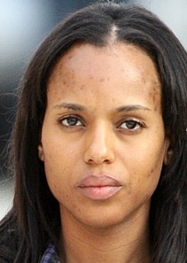 kerry washington no make up