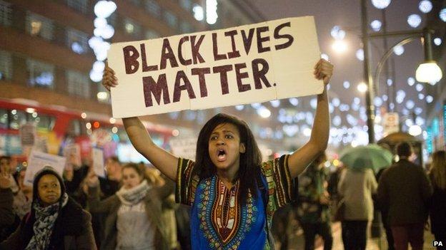 black lives matter woman